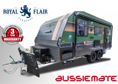 Aussie Mate Royal Flair 3 year warranty