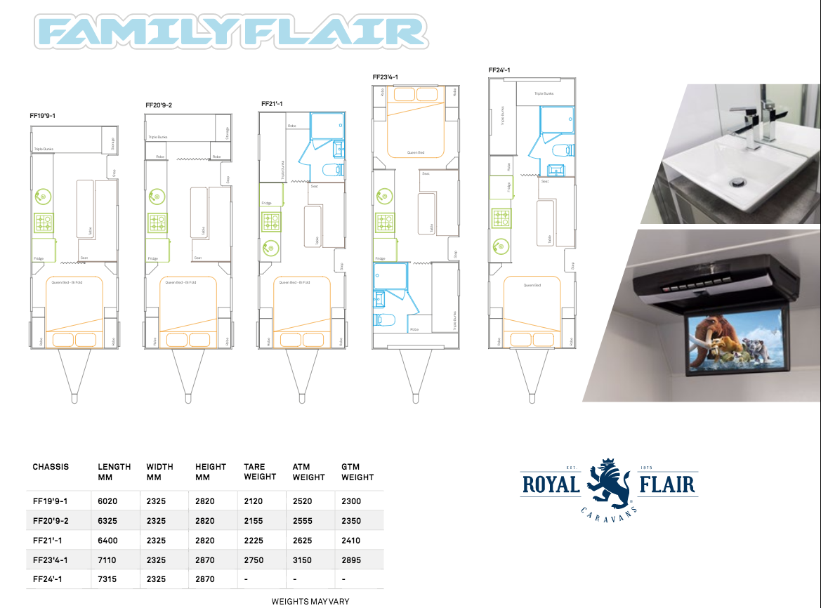 Family Flair Floor plan