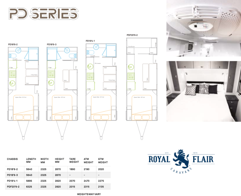PD Series Floor Plan