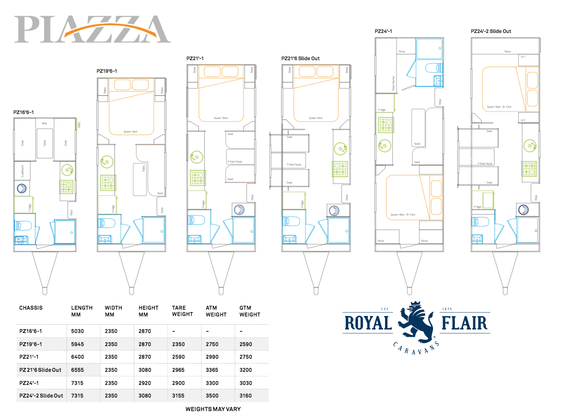 Piazza floor plan