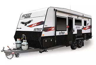 Ultimate Family caravan 21ft