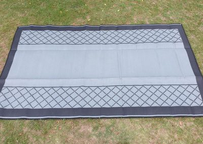 Annex Grey Patterned Mat